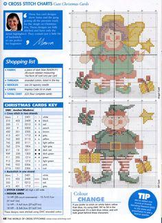 Gallery.ru / Фото #21 - The world of cross stitching 077 ноябрь 2003 + календарь - WhiteAngel