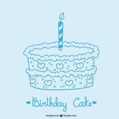 birthday wishes for him Birthday Quotes, Birthday Wishes, Happy Birthday, Birhday Cake, Cake Drawing, Baby Boy Birthday, Minimalist Wedding, Birthday Celebration, Vector Free