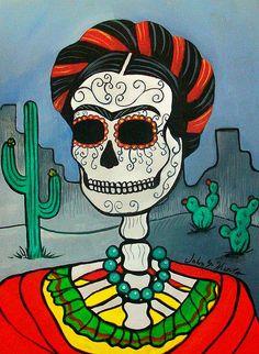 Frida in desert by John Huerta
