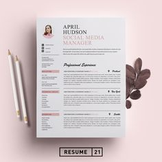 Social Media Manager Resumes Best Of social Media Resume Template Cv by On