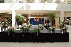 Image result for flower decoration for fashion show