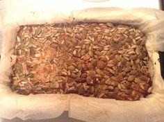 Made a seed & nut loaf (paleo)