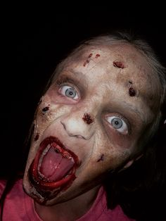 Zombie Makeup by Unwound FX #ZOMBIES #zombieapocolypse #zombiewalk #zombieland #zombiemode #zombiegirl #zombieattack #zombiefied #zombiesurvival #undead #zombie #zombiemakeup #zombiemask #zombiemakeup #corpse #dead #death #creepy #scary #unwoundfx
