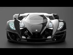 Gray Design's Zeus Twelve Supercar #LuxuryCars #VintageCars #SportCars #ConceptCars