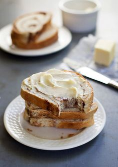 homemade cinnamon swirl bread, blogged at a pinch of yum #breakfast #bread