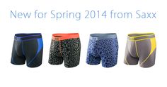 New Arrivals: Spring 2014 Collection from Saxx Underwear at Dianes Lingerie