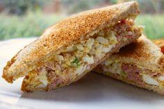 Ham and Egg Salad | Plain Chicken