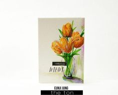 Create beautiful layered tulips for your papercrafts with our Fresh Cut Tulips stamp set. - 6x8 inches - 20 stamps - Made of photopolymer - Made in the U.S. - Coordinating dies can be found here. Find