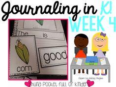 Journaling in Kindergarten Ideas