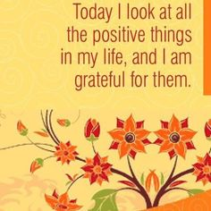 Gratitude is such an important part of my writing practice!