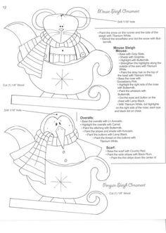 Moldes Country Navidad a pedido de Monik! – manosalaobratv