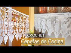 Cenefas Para Cocina - Tejidas a Crochet (Diseños Ideas ) - YouTube