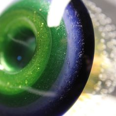 Airtrap Fume Implosion Marble Hitter made by Firekist Glass www.KravinGlass.com