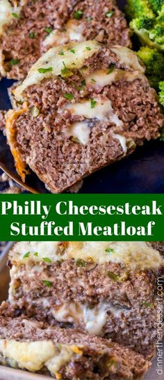 We LOVE this Philly Cheesesteak Meatloaf and even use leftovers on sandwiches.