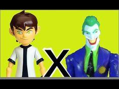 Ben 10 X Coringa Joker DC Comics Papai RG Filho Praça Cachorros Brinqued...