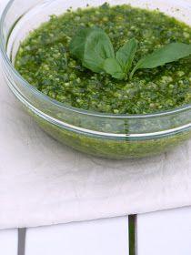Pesto alla genovese {au basilic}