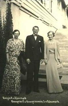 King Frederick IX & Queen Ingrid