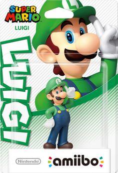 Luigi amiibo (Super Mario Collection).