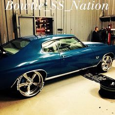 71 chevelle raised white letter tires bowtie ss nation generation good year