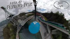Area 47 2019 Flying Fox 360° VR POV Vr