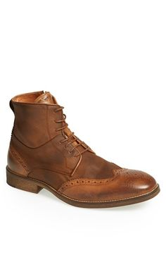 Modern+Vintage+'Andreas'+Wingtip+Boot+available+at+#Nordstrom