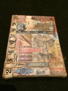 tim holtz - class samples in s africa.