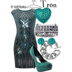 """""""Tron"""" by lalakay on Polyvore"""