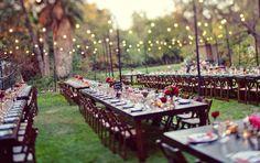Garden Wedding Receptions