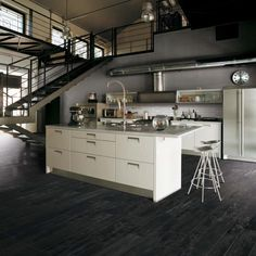 Look what I found at Floor & Decor! Concrete Kitchen, Kitchen Tiles, Kitchen Flooring, Kitchen And Bath, China Kitchen, Tile Suppliers, Bath Tiles, Kitchen Gallery, Floor Decor