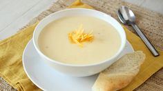 Blogger Gerry Speirs of Foodness Gracious whips up a quick, creamy soup in just ten minutes.