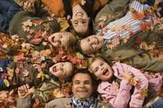 Love this pose for a fall family shoot