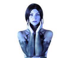 Alzbeta Trojanova as Cortana from Halo 4