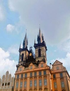 The church of Our Lady in front of Týn, Prague, Czechia Prague Old Town, Church Of Our Lady, Sacred Architecture, Pilgrimage, Notre Dame, Gothic, Traveling, Europe, Building