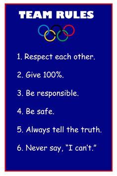 olympic themed classroom