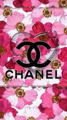 Logo Chanel Coco Chanel Wallpaper, Chanel Wallpapers, Cute Wallpapers, Pastel Wallpaper, Love Wallpaper, Designer Wallpaper, Wallpaper Backgrounds, Chanel Decor, Chanel Art