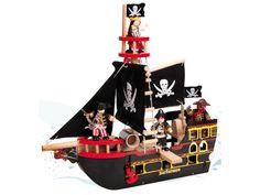 Piratskepp Barbossa - Le Toy Van - Paddington's Leksaker
