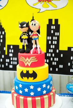 """Photo 11 of 66: Super Heroes / Birthday """"CALLING ALL SUPER FRIENDS"""" 