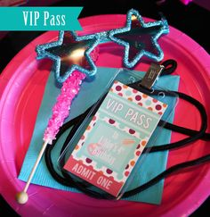 Libby Lane Press - Custom designs and printable party goods for all of life's celebrations. Rockstar Party, Rockstar Birthday, 5th Birthday Party Ideas, 10th Birthday Parties, Birthday Fun, Barbie Invitations, Limo Party, Girl Spa Party, Barbie Party