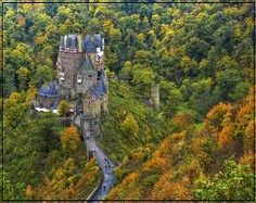 Burg Eltz, Germany.  The hike through the forest to get to the castle was also beautiful.