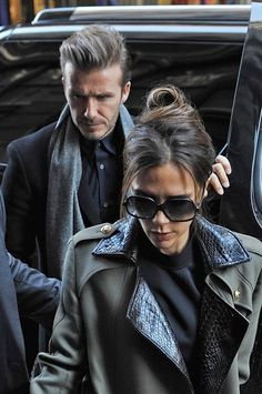 David Beckham Photo - The Beckhams Brunch in New York