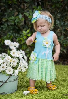 Summer Daisy Dress3T to 6 Years!Now in Stock