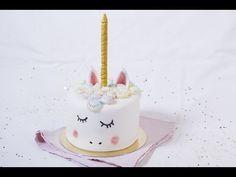 Un vent de magie souffle sur vos pâtisseries avec ce gâteau licorne et sa déco facile à faire en moins de 30mn