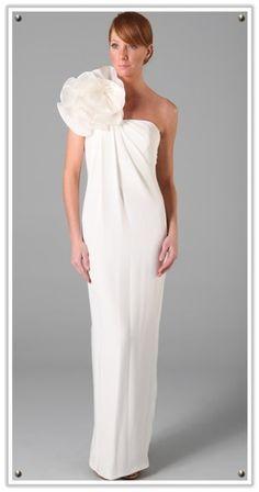 Designer wedding dresses for less - Marchesa #wedding #bride #weddingdress