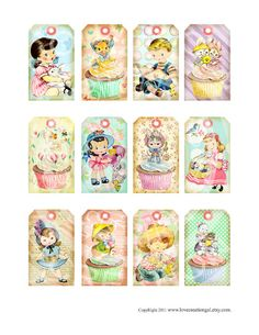 Babies Babies Babies! Include some vintage Tags in your new baby DVD http://www.shoeboxsouvenirs.com/