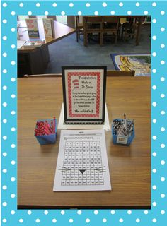 Great ideas!  School librarian blogger. The Book Bug