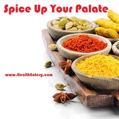 Spice Up Your Palate! www.healtheatery.com #ginger #turmeric #cinnamon #basil