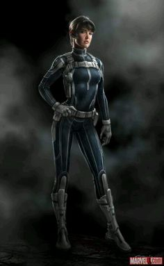 Maria Hill movie design