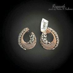 Vir Jewels cttw Certified Diamond Stud Earrings White Gold with Screw Backs – Fine Jewelry & Collectibles India Jewelry, Ear Jewelry, Wedding Jewelry, Jewelery, Jewelry Sets, Gold Earrings Designs, Gold Jewellery Design, Men's Jewellery, Designer Jewellery