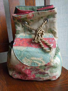 Boho Backpack Gypsy Sling Bag Embroidered