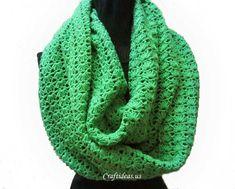 Crochet round scarf - Craft Ideas - Crafts for Kids - HobbyCraft | Craft Ideas - Crafts for Kids - HobbyCraft